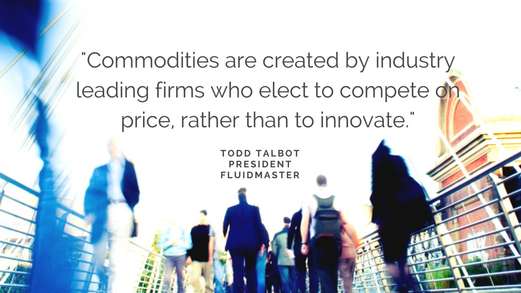 Commodities are created by industry leading